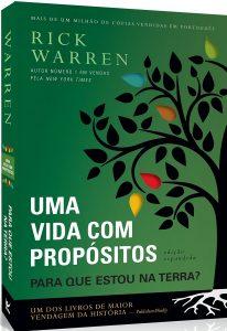 Capa do livro Uma vida com propósitos