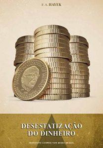 Capa do livro Desestatização do dinheiro