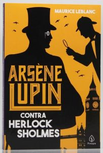 Capa do livro Arsene Lupin - Contra Sherlock Holmes