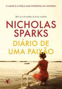 Capa do livro Diário de uma paixão de Nicholas Sparks