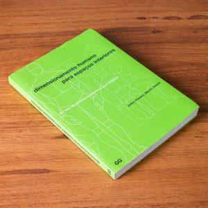 Capa do livro Dimensionamento humano para espaços interiores