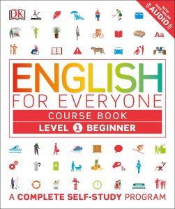 Capa do livro English for Everyone Level 1 Beginner - Course Book A Complete Self-Study Program