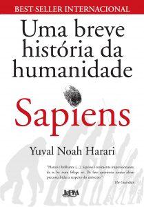 Capa do livro Sapiens uma breve história da humanidade