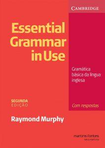 Capa do livro Essential Grammar in Use Gramática Básica da Língua Inglesa