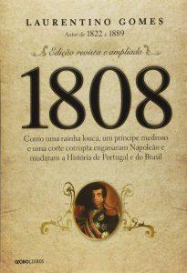Capa da livro de História: 1808