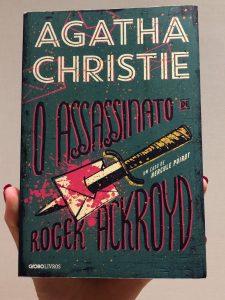 Capa do livro O assassinato de Roger Ackroyd