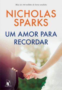 Capa do livro Um amor para recordar de Nicholas Sparks