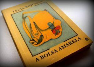 Capa do livro A bolsa amarela