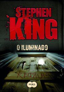 Capa do livro O Iluminado de Stephen King