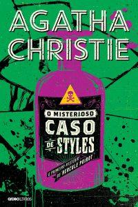 Capa do livro O misterioso caso de Styles