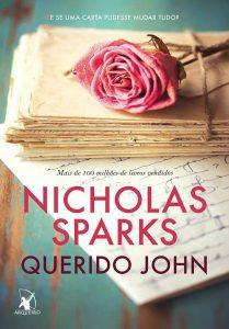 Capa do livro Querido John de Nicholas Sparks