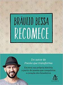 Capa do livro Recomece de Bráulio Bessa