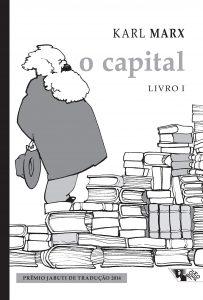 Capa do livro O Capital (Volume 1, 2, 3)