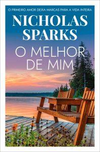 Capa do livro O melhor de mim de Nicholas Sparks