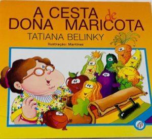 Capa do livro A cesta da dona Maricota