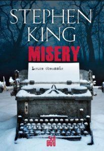 Capa do livro Misery: Louca Obsessão de Stephen Kiing