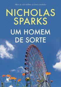 Capa do livro Um homem de sorte de Nicholas Sparks