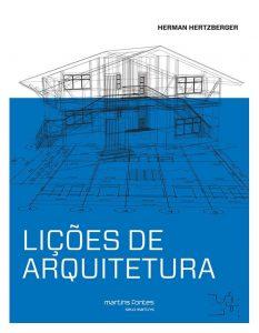 Capa do livro - Lições de arquitetura