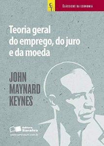 Capa do livro A teoria geral do emprego, do juro e da moeda