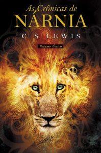 Capa do livro As Crônicas de Nárnia