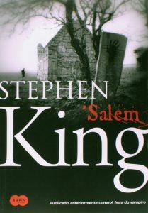 Capa do livro SAlem de Stephen King
