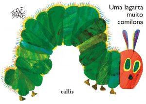 Capa do livro Uma lagarta muito comilona