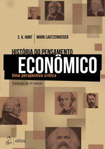 Capa do livro História do Pensamento Econômico Uma perspectiva crítica