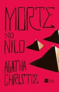 Capa do livro Morte no Nilo de Agatha Christie