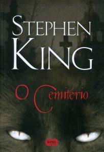 Capa do livro O Cemitério de Stephen KIng