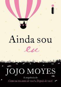 Capa do livro Ainda sou eu de Jojo Moyes