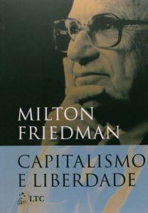 Capa do livro Capitalismo e Liberdade
