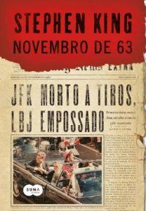 Capa do livro Novembro de 63 de Stephen King