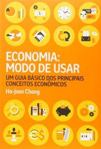 Capa do livro Economia modo de usar. Um guia básico dos principais conceitos econômicos