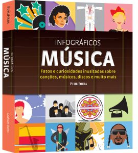 Capa do livro Infográficos música