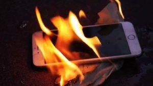 iphone pega fogo