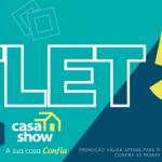 Outlet CASA SHOW com até 50% de desconto