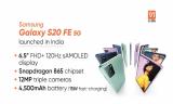 Samsung Galaxy S20 FE 5G lançado na Índia