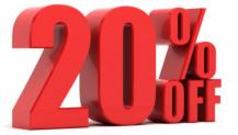 Cupom de desconto Marisa 20%
