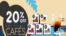 Cafés Dolce Gusto com 20% de desconto