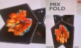 Pôster do Mi MIX Fold vaza online, revelando mais sobre o dobrável da Xiaomi