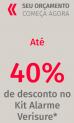 Ganhe até 40% de desconto no Kit Alarme Verisure
