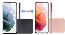 Cupom Carrefour Smartphone Samsung S21: R$1000 OFF
