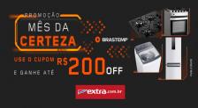 Cupom Extra até R$200 de desconto
