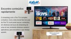 Cupom KaBuM! Streaming Amazon Fire TV Stick Lite: 10% OFF