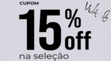 Cupom Vult Exclusivo Cupomzeiros 15% de Desconto