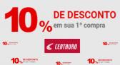 Descontos primeira compra Centauro 10% OFF