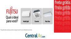 Produtos Fujitsu com frete grátis na Central Ar