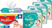 Fraldas Pampers no Carrefour com até 31% de desconto