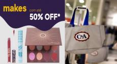 Descontos em produtos de Beleza C&A até 50% OFF