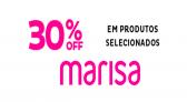 Cupom Marisa com 30% de desconto